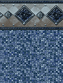 Bonaire Tile Pool Liner